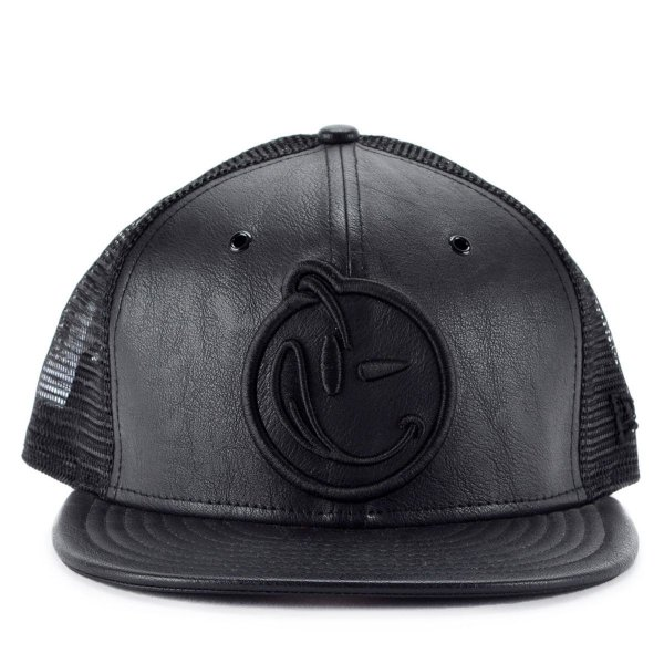 Boné New Era 9fifty Strapback Yums Black Leather Preto Ymv15 - JD ... e3852b91afd