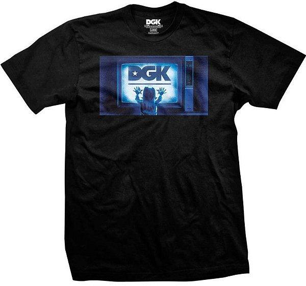 CAMISETA DGK BIG STATIC - PRETA - JD Skate Shop 614c843895f2b
