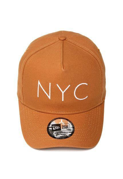 BONÉ NEW ERA SNAPBACK NYC BEGE - JD Skate Shop f731261a5dc