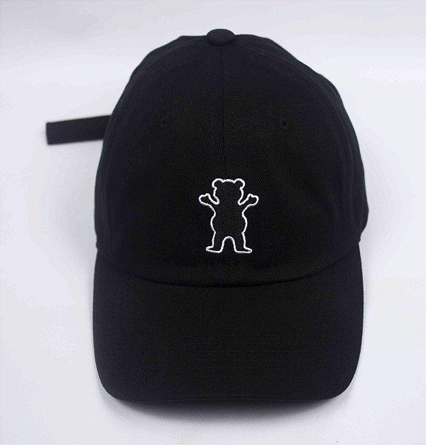 Boné Dad Hat grizzly og Bear - preto - JD Skate Shop 91c354ec97e9