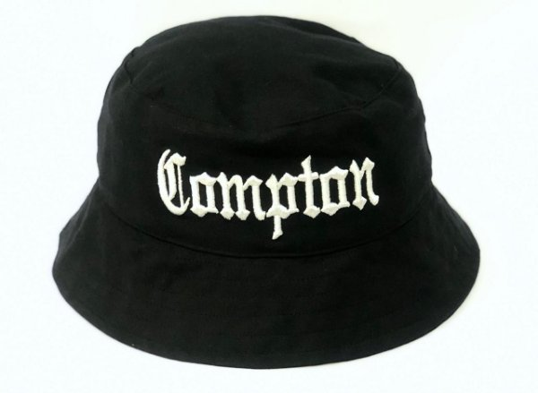 Bucket Hat Catu Street wear Compton - Preto - JD Skate Shop 3064fc3758c