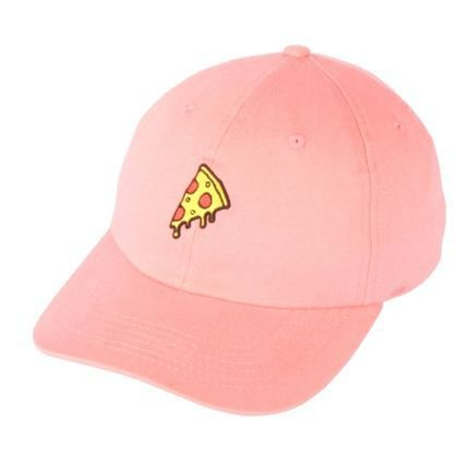 BONÉ DAD HAT NARINA PIZZA - ROSE - JD Skate Shop a55a602af4e