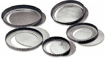 Torta de maça, alumínio, fundo falso