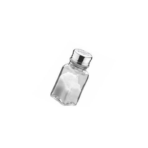 Saleiro - pimenteiro quadrado / 50ml