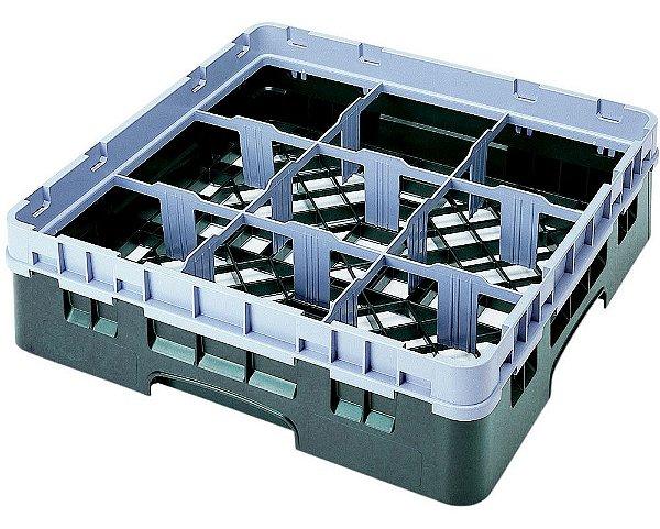 Rack /9 compartimentos /Ø max 14,8cm