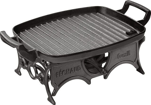 Réchaud grill alça ferro / 30 x 24cm