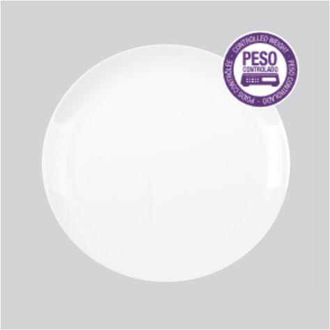 Prato raso Blanc / Ø 27 x 1,9cm