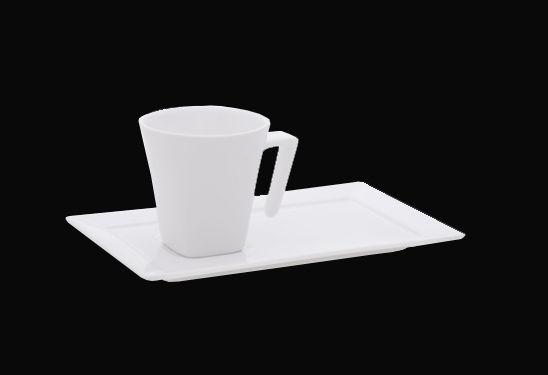 Xícara de café Plateau /com pires