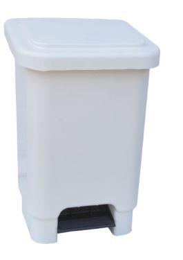 Lixeira retangular com pedal / 25L