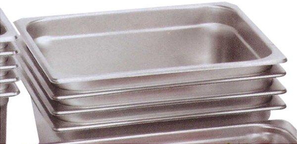 cubas GN 1/2 - 26,5 x 32,5cm - inox, sem alça