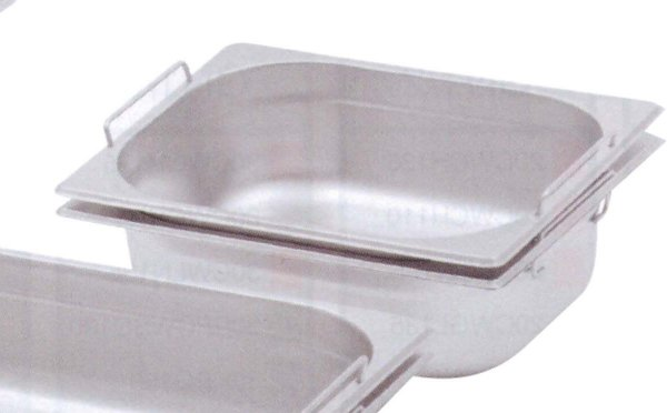 cubas GN 1/2 - 26,5 x 32,5cm - inox 201, com alça