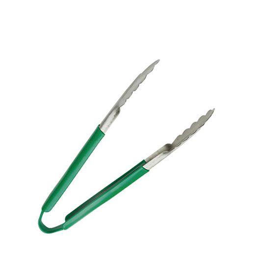 Pegador inox /cabo verde /24cm
