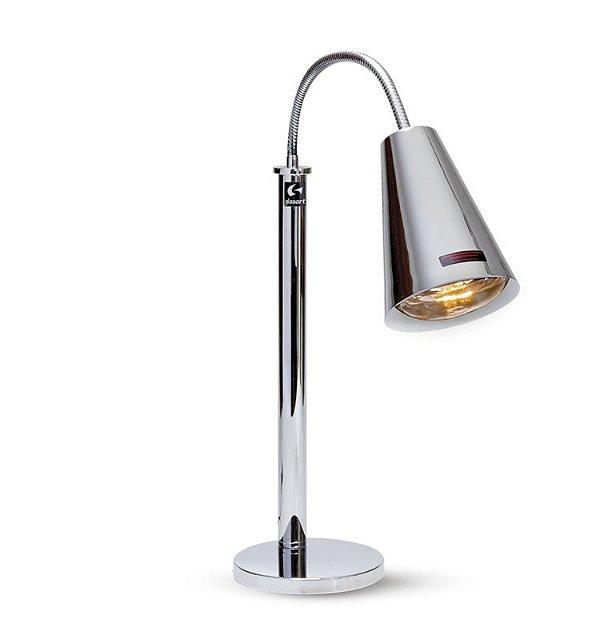 luminária aquecedora / 1 spot / 250w