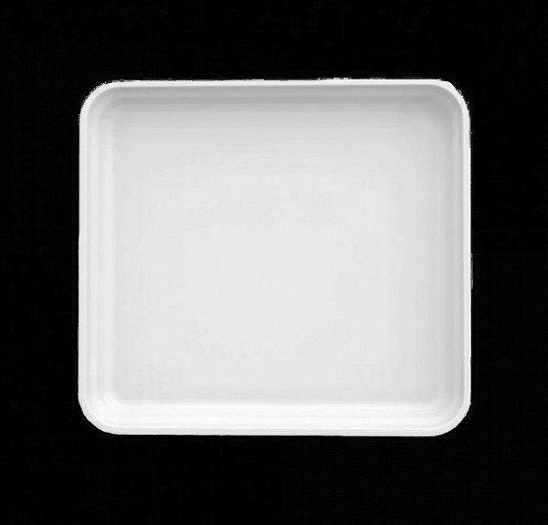 Travessa funda porcelana 1/6 - 17 x 15cm / h6cm (kit 2 peças)