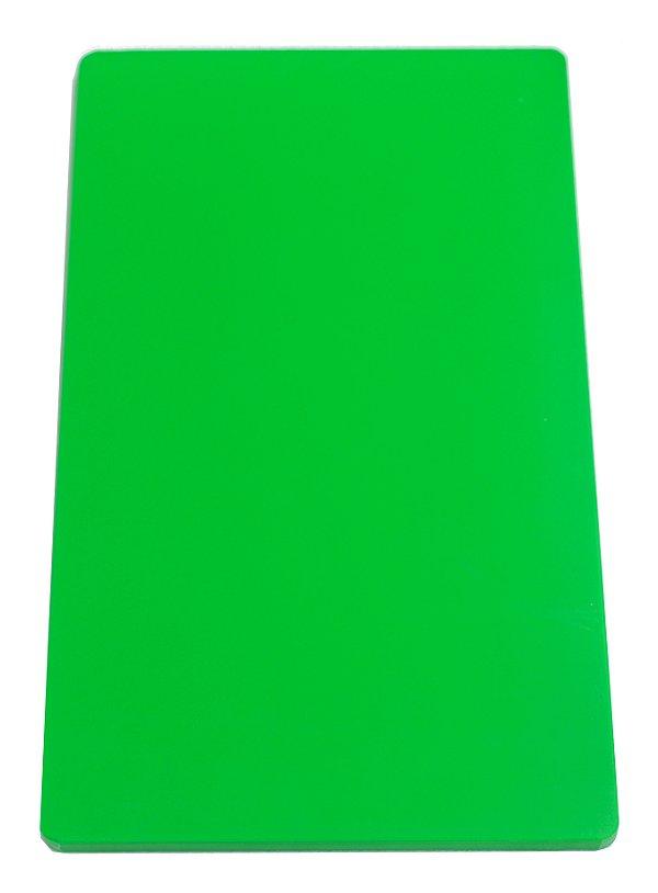 Placa em altileno / 10x500x300mm / verde