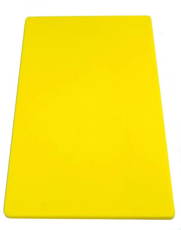 Placa em altileno / 15x500x300mm / amarela