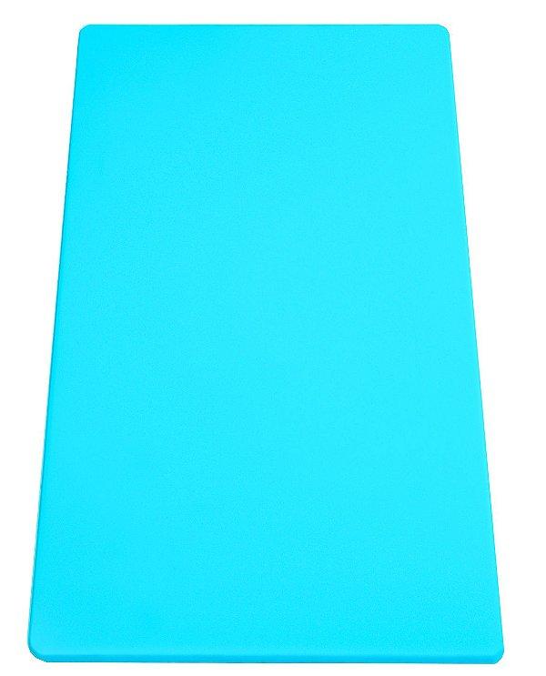 Placa em altileno / 15x500x300mm / azul