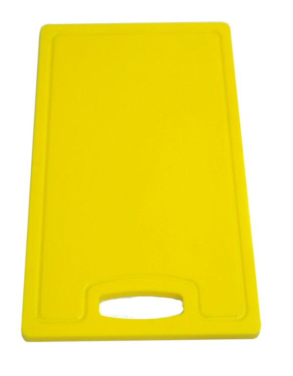 Placa altileno 15x500x300mm Amarela com Canaleta