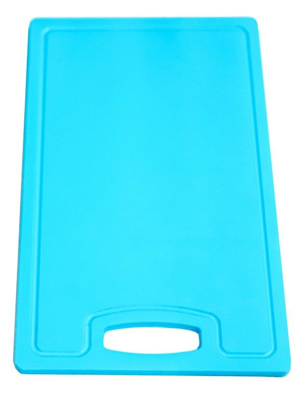 Placa altileno 15x500x300mm Azul com Canaleta