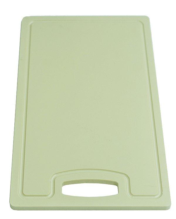 Placa em altileno / 15x500x300mm / bege / Canaleta