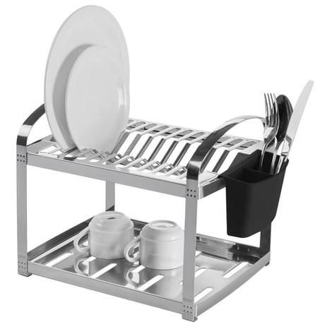 Escorredor 12 pratos 42x27x29cm