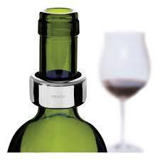 Anel salva gotas p/ garrafa vinho