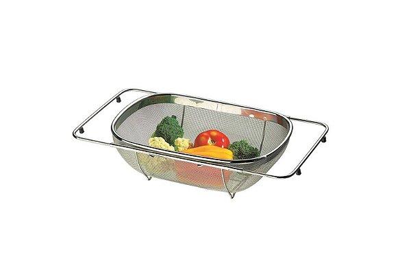 Cesto p/ lavar frutas e verduras 36x24,5x11cm