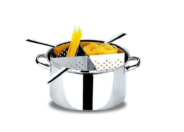 Espagueteira 4 cestos 31x16,5cm vol. 10l