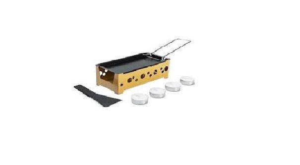 Cj. Raclette 7pçs 18,2x8,7x6cm