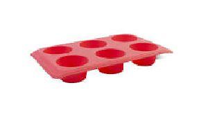 Forma silicone 6 cavidades 30x26x3,5cm