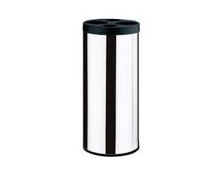 Coletor de copos descartáveis diam. 20cm h 60cm