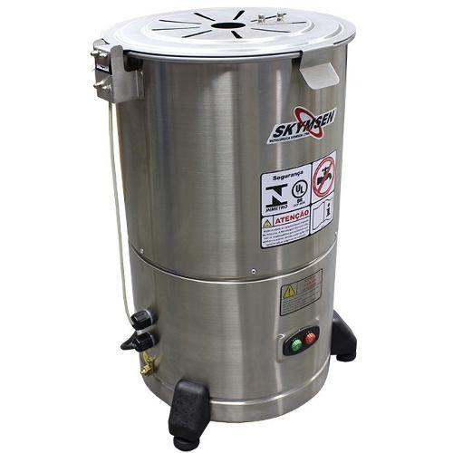 DESCASCADOR INOX, 6 kg