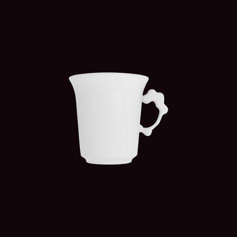 Xícara Chá Lady 30 / Ø 8,5cm x h 9cm, com pires diam 14cm