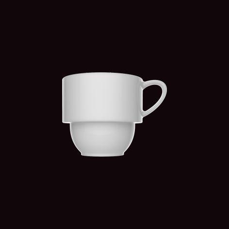 Xícara de Café Versa / Ø 5,5cm x h 5,5cm / 90ml, com pires 11,5cm