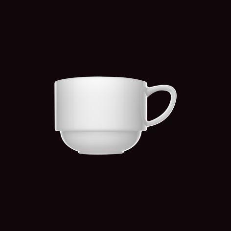 Xícara de Chá Versa / Ø 8,5cm x h 6cm / 210ml, com pires diam 13,5cm