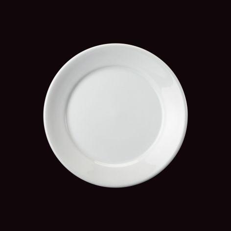 Prato Sobremesa Convencional / Ø 18,8cm / Borda 3,3cm
