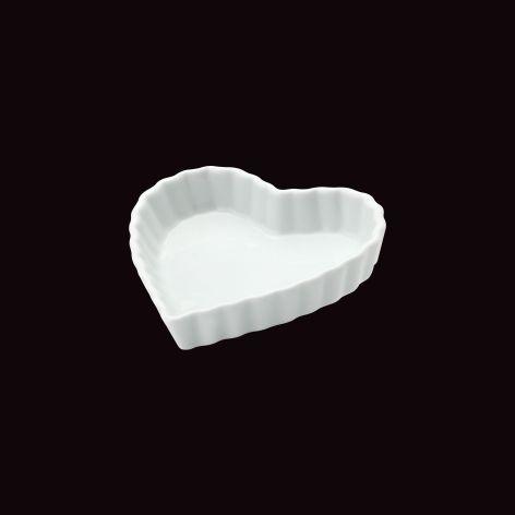 Forma Coração Calorama / 13,5 x 12cm / h 2,5cm / 200ml