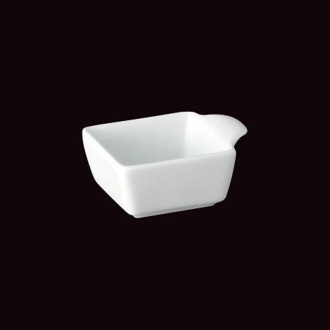 Mini Bolw Quadrada com 1 Alça Couvert / 8,5 x 7cm / h 3,8cm / 60ml