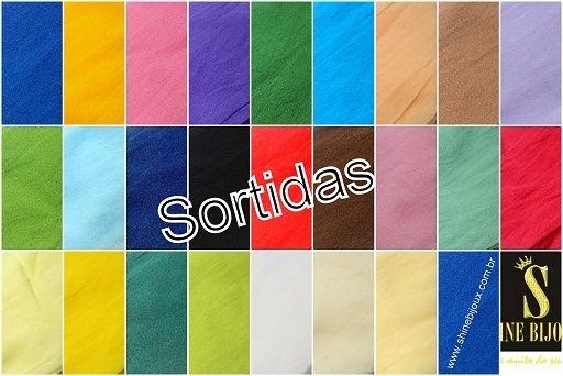 Meia de Seda Passo fofo ® para Artesanato  para faixas tiaras e artesanatos