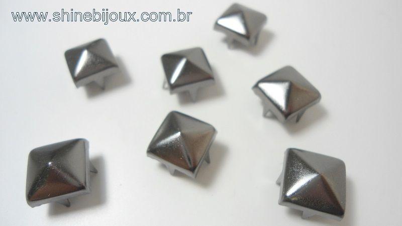 Tacha Cravo Pirâmide Spike 10x10mm Baxmann®
