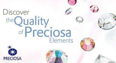 Mc Chaton strass base reta Preciosa components® SS20 (4,8mm)