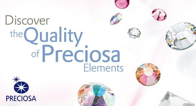 Mc Chaton Strass base reta Preciosa components® SS34 (7,5mm) Hotfix New Glue