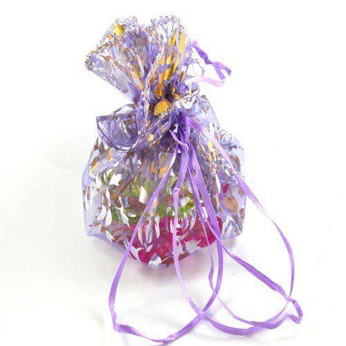 Saco de Organza Redondo 25x25cm Shine Beads®