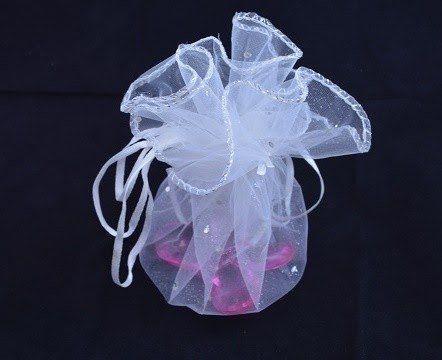 Saco de Organza Redondo 35x35cm Shine Beads®