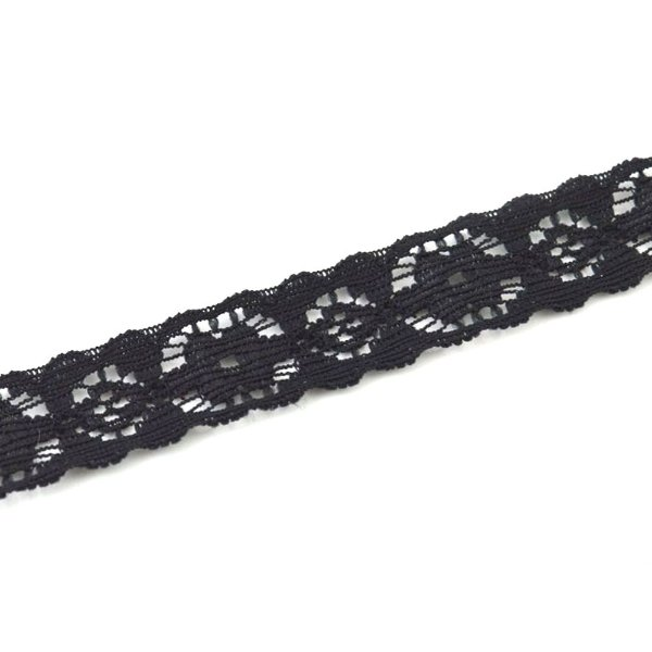 Renda Elastano 15mm para faixas e bordados Shine Beads®