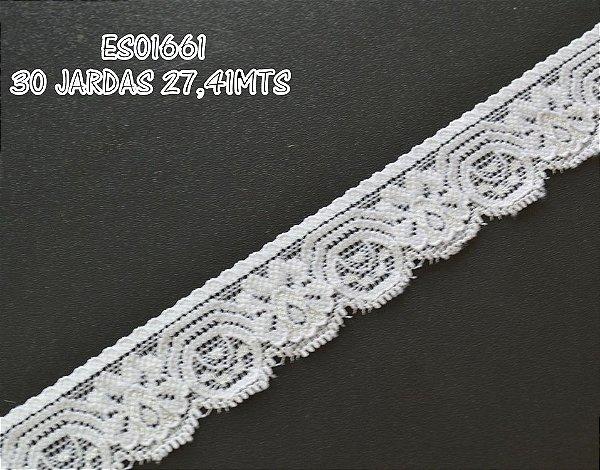 Renda Elastano 30mm para faixas e bordados Shine Beads®