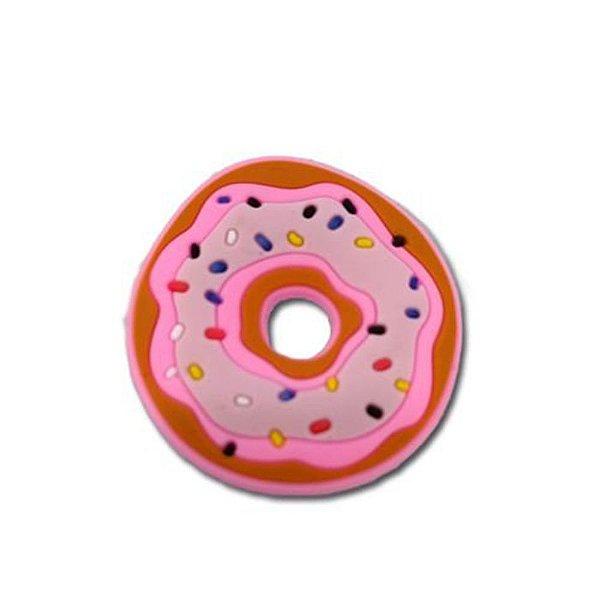 Aplique Donuts para laços multiuso em silicone 4cm