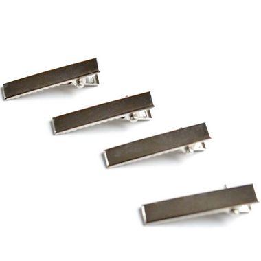 Bico de Pato Quadrado para Cabelos Níquel  Shine Beads® 35/40/45/55 MM