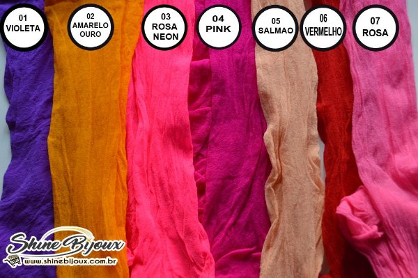 Meia de seda importada Shine beads pacote com 10 unidades