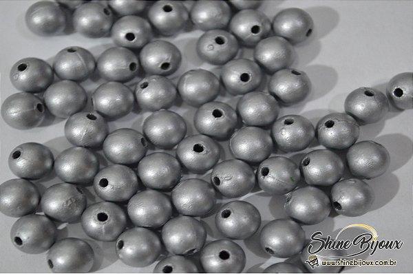 Pérola Fosca metalizada  6mm 250grs (super oferta )